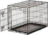 AmazonBasics Single-Door Folding Metal Dog Crate - 30 Inches