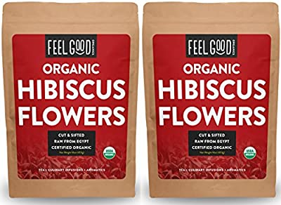 Hibiscus Flowers (Cut & Sifted)