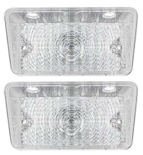 70 CHEVELLE SS PARKING LIGHT LENS, CLEAR Chevelle Parking Light Lens
