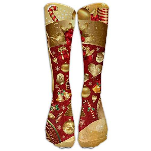 Mr.Roadman Christmas Stockings Photos Knee High Socks Casual