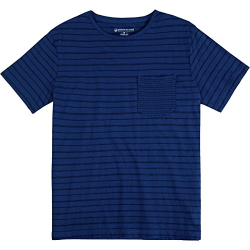 United Stripe (United By Blue Standard Stripe T-Shirt - Men's Navy, L)