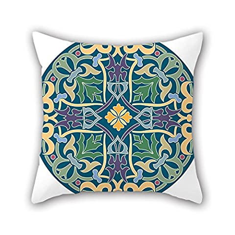 NICEPLW Pillow Covers Of Bohemian,for Her,teens,drawing Room,bar,kids Girls,kitchen 20 X 20 Inches / 50 By 50 Cm(double - Crib Evacuation Frame