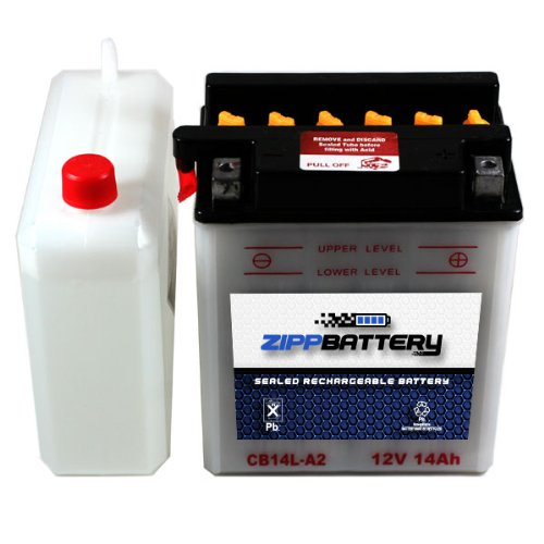 YB14L-A2 Riding Lawn Mower Battery for MTD PRODUCTS 300, 400, 500, 600 Series