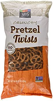 365 Everyday Value Crunchy Pretzel Twists, 16 oz