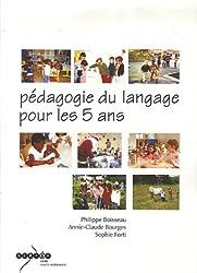 Pédagogie du langage pour les 5 ans (1Cédérom)