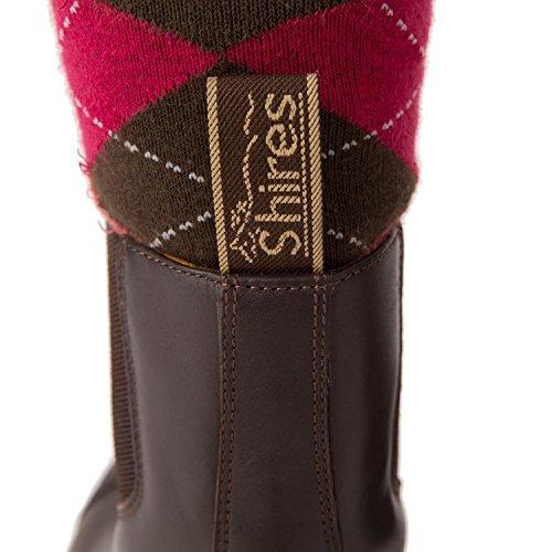 """""""Oxford"""" rendimiento Paddock botas equitación calzado estable patio [marrón] [36/3,5]"""