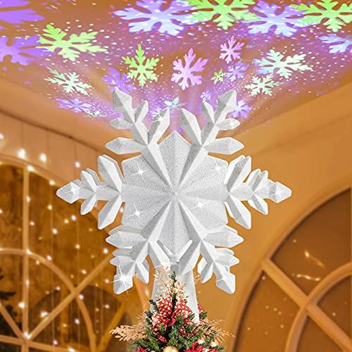 bedee Christmas Tree Topper Light