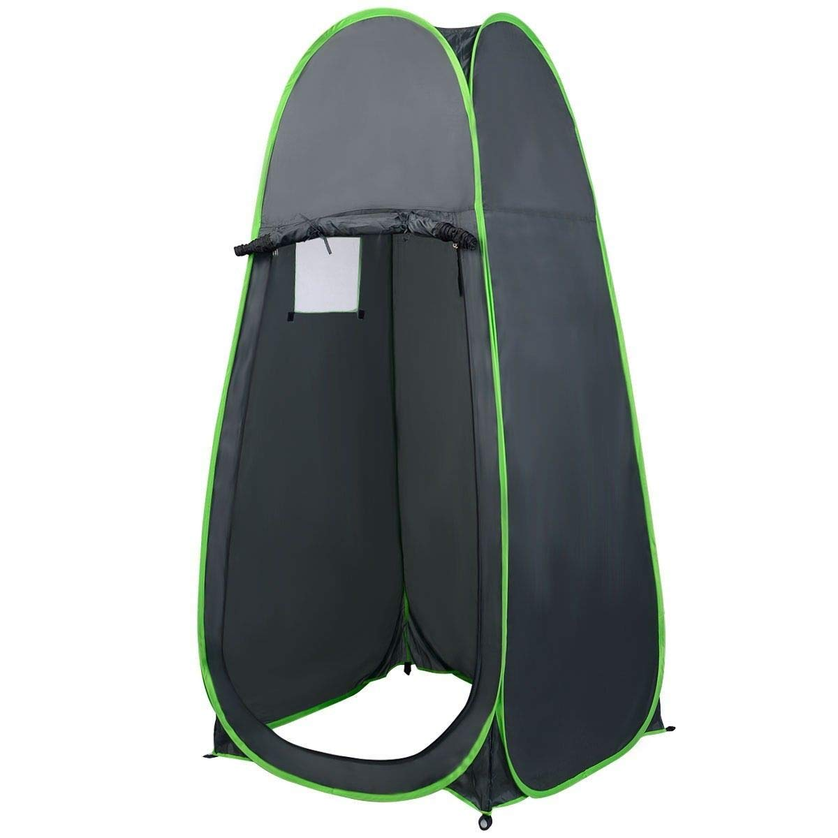 Lucidz Portable Pop UP Tent Toilet Camping Bathing Shower Fishing Changing Room Tent Green
