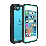 iPod Touch 5 & 6 Waterproof Case, Besinpo Sweatproof Snowproof Dustproof Built-in Touch Screen for iPod Touch 5th & 6th Generation - Blue