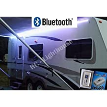 RV Awning Camper recreational vehicle Rect Wifi Controller for RGB LED Lights 16.4' feet of LED Strips
