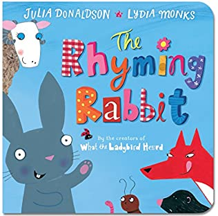 book cover of The Rhyming Rabbit