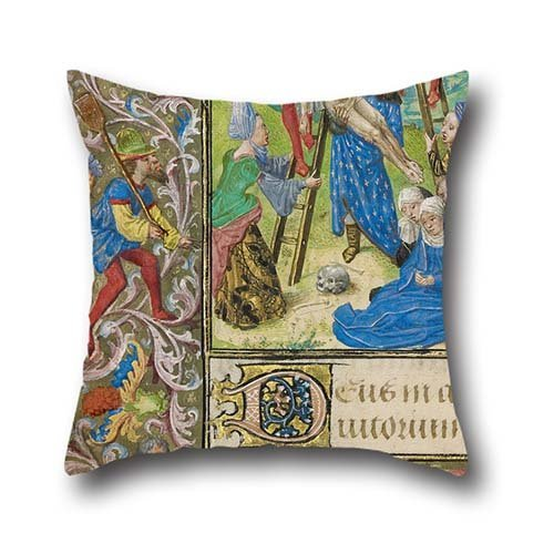 [Oil Painting Vienna Master Of Mary Of Burgundy - The Deposition Cushion Covers 18 X 18 Inch / 45 By 45 Cm Best Choice For Pub,festival,car Seat,floor,lounge,boy Friend With 2] (National Costume Of All Countries)