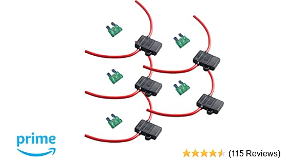 Amazon.com: ESUPPORT 12 Gauge ATC Fuse Holder Box in-Line AWG Wire on fuse box fuses, fuse box dimensions, fuse box repair, power window switch wiring, fuse box engine, fuse box electrical, fuse box mounts, fuse box speakers, fuse box grounding, ignition switch wiring, fuse box components, fuse switch box, fuse box transformer, fuse box electricity, fuse box safety, fuse box connectors, fuse box assembly, fuse box relays, fuse box terminals, fuse box plug,