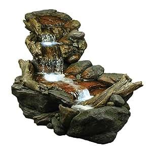 Amazon Com Alpine Corporation 3 Tier Rainforest Rock