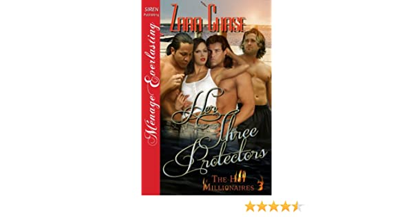 Her Three Protectors [The Hot Millionaires #3] (Siren Publishing Menage Everlasting)