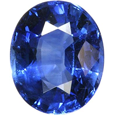 e7ed12cffbb73 S Kumar Gems & Jewels Neelam Stone Certified Natural Blue Sapphire Gemstone  11.25 Ratti