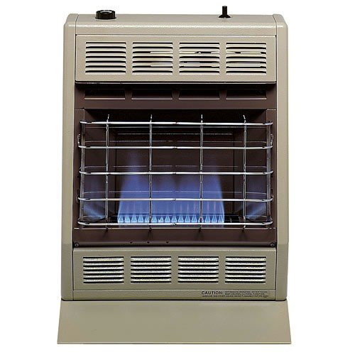 Empire Vent-Free Blue Flame Heater LP 10000 BTU, Thermostatic Control