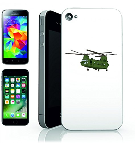 Smartphone Case Chinook-CH 47Chinook Boeing CH 47elicottero dell elica della RAF di Aviazione di aerei da combattimento di Lotta di volare per Apple Iphone 4/4S, 5/5S, 5C, 6/6S, 7& Samsung Gala