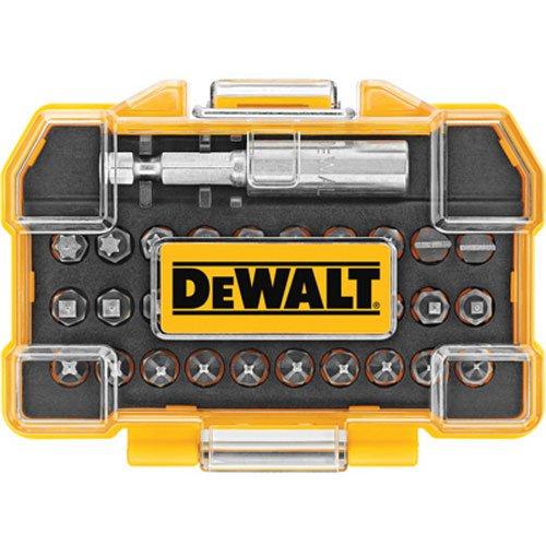 DEWALT DWAX100 Screwdriving Set 31 Piece