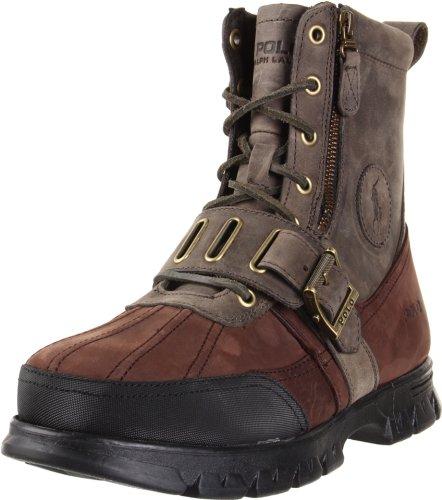 Polo Ralph Lauren Men's Andres Ankle Boot - stylishcombatboots.com