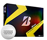 Bridgestone B330 Personalized Golf Balls - Add Your Own Text (12 Dozen)
