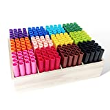 Histar 192 Broad Line Washable Markers Colored Tips Art Markers 12 Colors Drawing Markers Super Marker Set with 192-Count, Brush Pens, Classpack