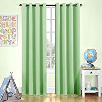 Moderate Blackout Curtains for Kids Room 84 inches Long...