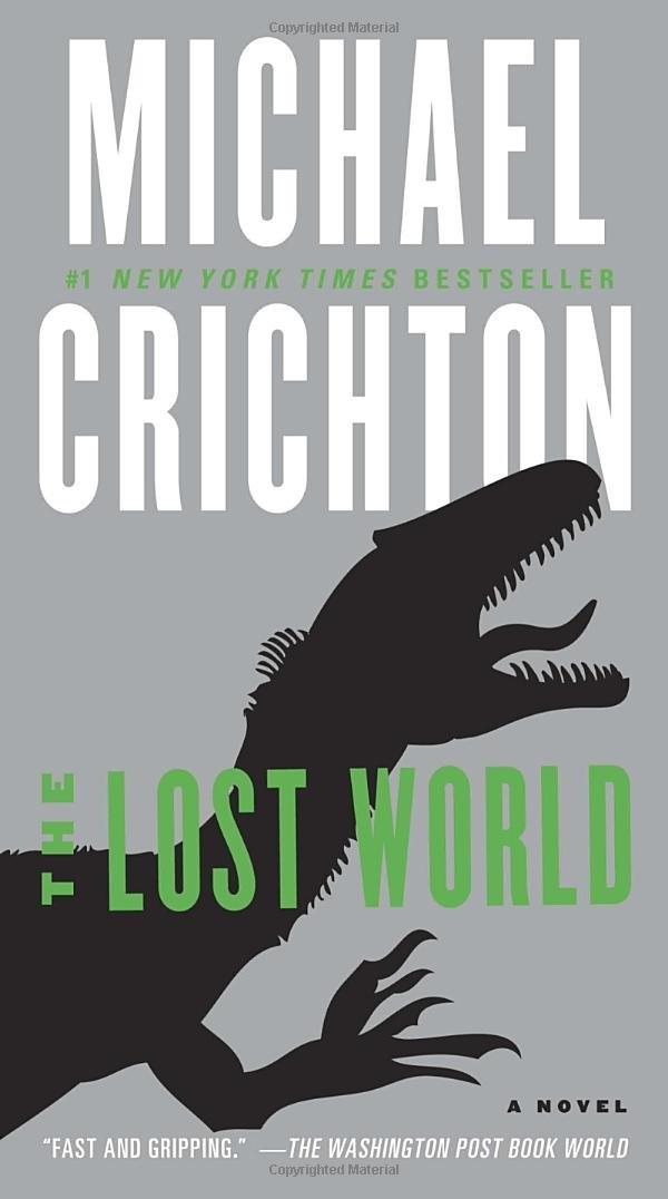 Lost World Novel Jurassic Park product image