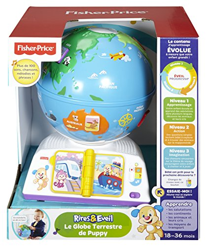 Fisher-Price - DPV97 - Le Globe Terrestre de Puppy