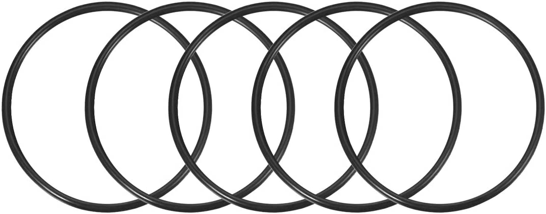 uxcell O-Rings Nitrile Rubber 25mm OD 4mm Width,Round Seal Gasket Pack of 5 17mm Inner Diameter