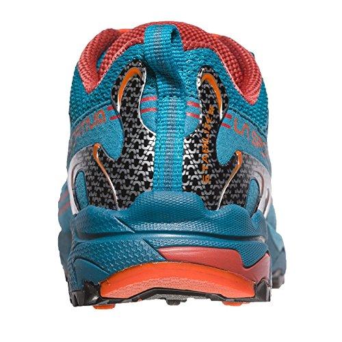Zapatillas De Running La Sportiva Mutant Para Mujer - Ss18 Falkon Low 27-35 Tropic Blue / Tangerine Talla: 33