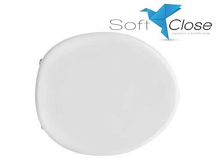 Ceramica Azzurra Full 48.Sedile Wc Compatibile Azzurra Full 48 Soft Close Chiusura