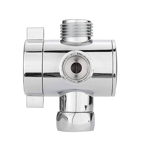 Amazon.com: Válvula adaptador en T de tres vías para inodoro ...