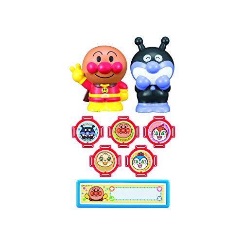 Japan Kids Toy - Anpanman stamp set *AF27*