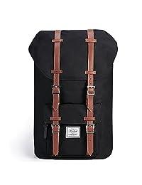 Laptop Backpack,KALIDI 17 Inch Hiking Backpack Travel Daypack School Bag For Women and Men