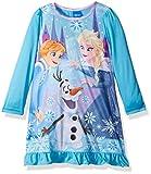 Disney Little Girls' Frozen Elsa Nightgown, Blue, 4