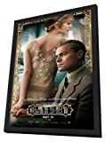 The Great Gatsby 3D (2013) 27 x 40 Movie Poster - Style B - in Deluxe Wood Frame