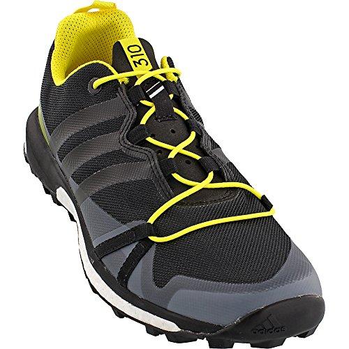 Adidas Outdoor Heren Terrex Agravic Schoenen Donker Grijs / Zwart / Helder Geel