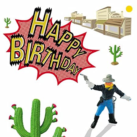 Cowboys And Indians Us Cavalry Soldier Birthday Cards For Boys