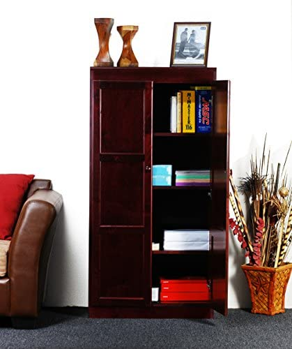Concepts in Wood KT613A Storage Cabinet for Office or Pantry (Oak)