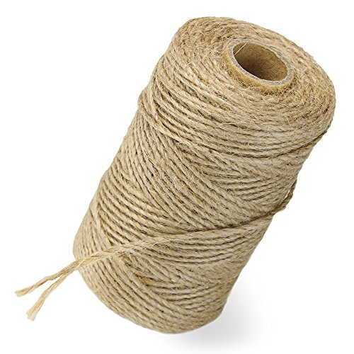 Jute Packaging and Craft Twine, 330 feet, 2-ply by Studio Nouveau