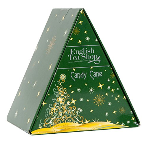 English Tea Shop Candy Cane Nylon Pyramid, 12 Gram by English Tea Shop