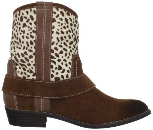 Kelsi Dagger Brooklyn Women's Tempest Ankle Boot Cognac/Giraffe dTHEIhl9