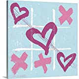Gallery-Wrapped Canvas Entitled Teen Collection - Love Wins by Peter Horjus 16''x16''