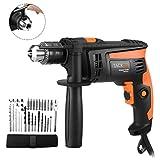 Hammer Drill 710W, Tacklife Impact Drill 2800r/min 230V 50Hz, Hammer &...