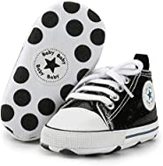 Sawimlgy Soft Sole Baby Sneakers Newborn Infant Boy Girl Fashion Canvas Shoes Newborn Infant First Walkers Crib Shoes
