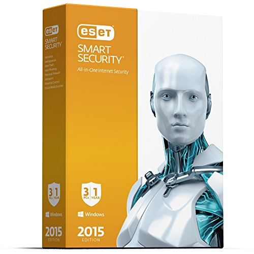 Eset Smart Security   2015 Edition   3 Users V 8