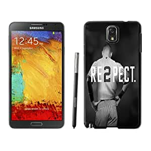 Unique And Antiskid Designed Cover Case For Samsung Galaxy Note 3 N900A N900V N900P N900T With Derek Jeter RE2PECT New Fashion York Yankees Black Phone Case