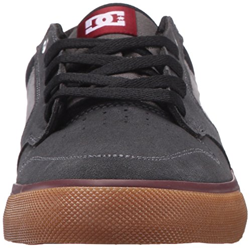 DC–Hombre Argosy Vulc Low Top Zapatillas ( Charcoal/Black/Red