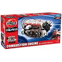 Airfix A42509 Engineer Combustion Engine Real Kit de modelo de trabajo